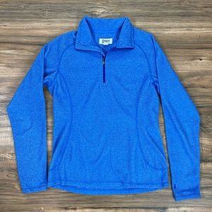 Alpine Design 1/4 zip polyester fleece pullover XS
